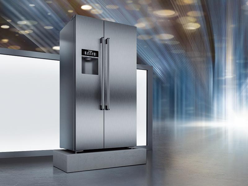 Americká chladnička Siemens