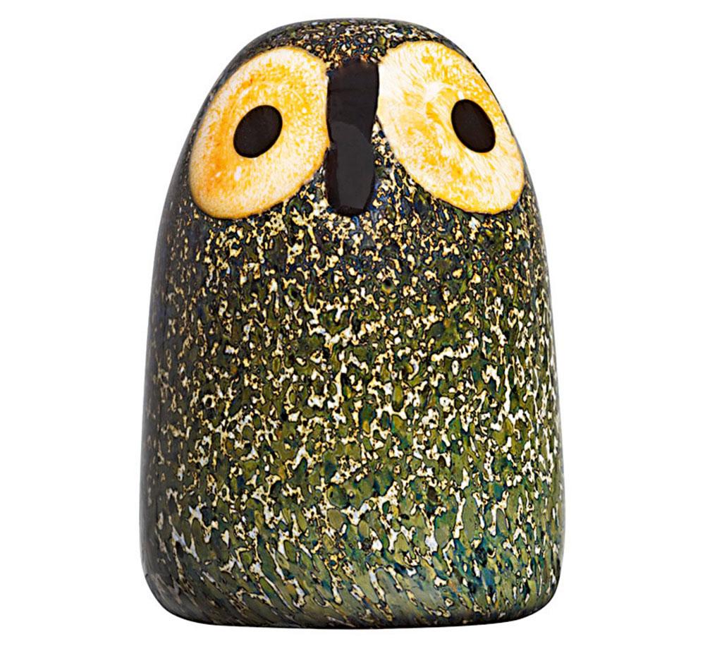 Toikka Little Barn Owl, Iittala, sklenená dekorácia, 178 €, terve.cz/sk