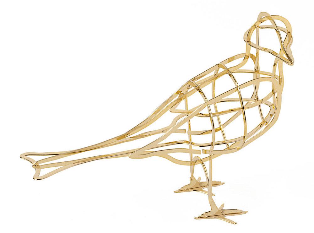 AL'Aube Bird Ornament, Ibride, kovová dekorácia, 204 €,