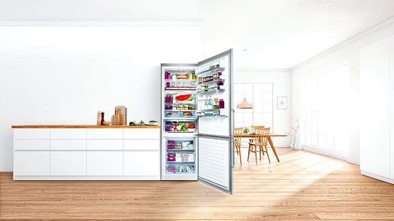 Voľne stojaca chladnička s mrazničkou Bosch