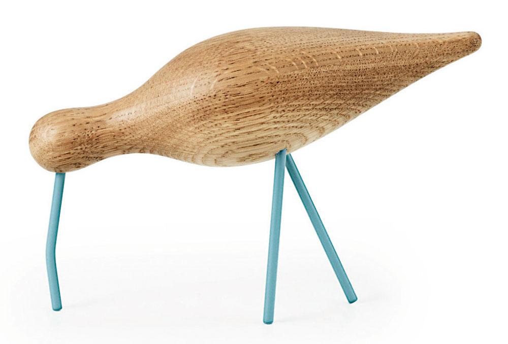 Shorebird, Normann Copenhagen, drevená dekorácia, 50 €