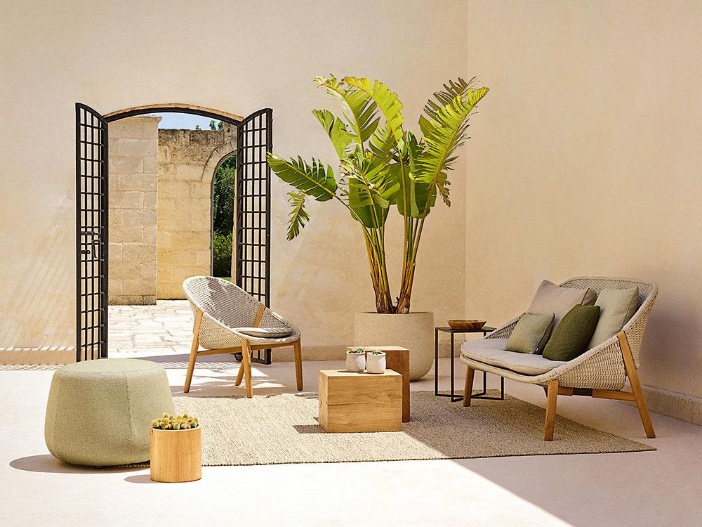 Záhradný nábytok Elio od značky Tribu, cena na vyžiadanie