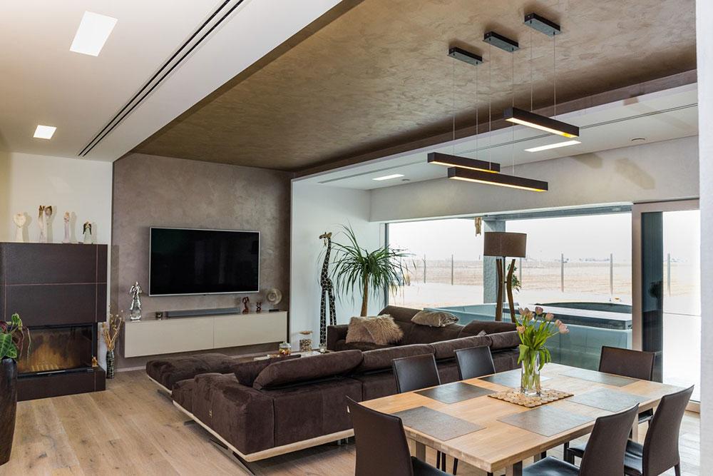 luxusná obývacia izba