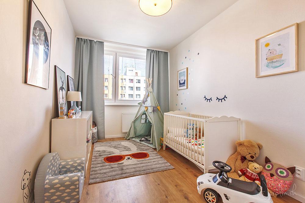 detská izba Byt Hanulova