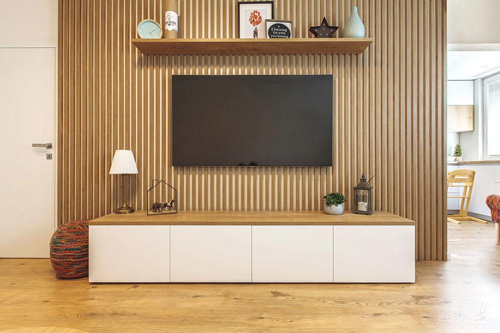 Byt Hanulova obývačka