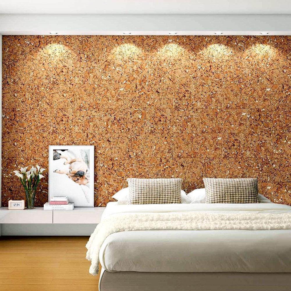 Korková stena zaručí príjemnú akustiku, teplý pocit ajedinečný šarm.