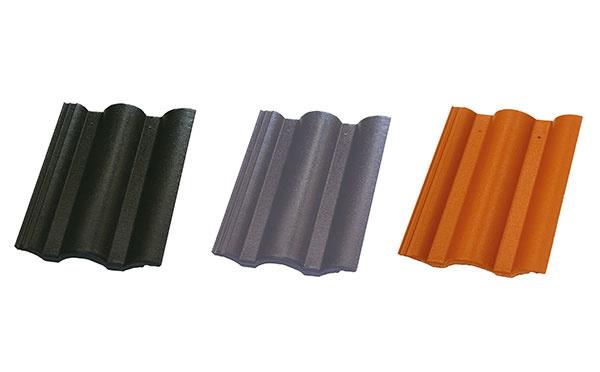 Strešná krytina Danubia ClimaControl v troch farebných odtieňoch