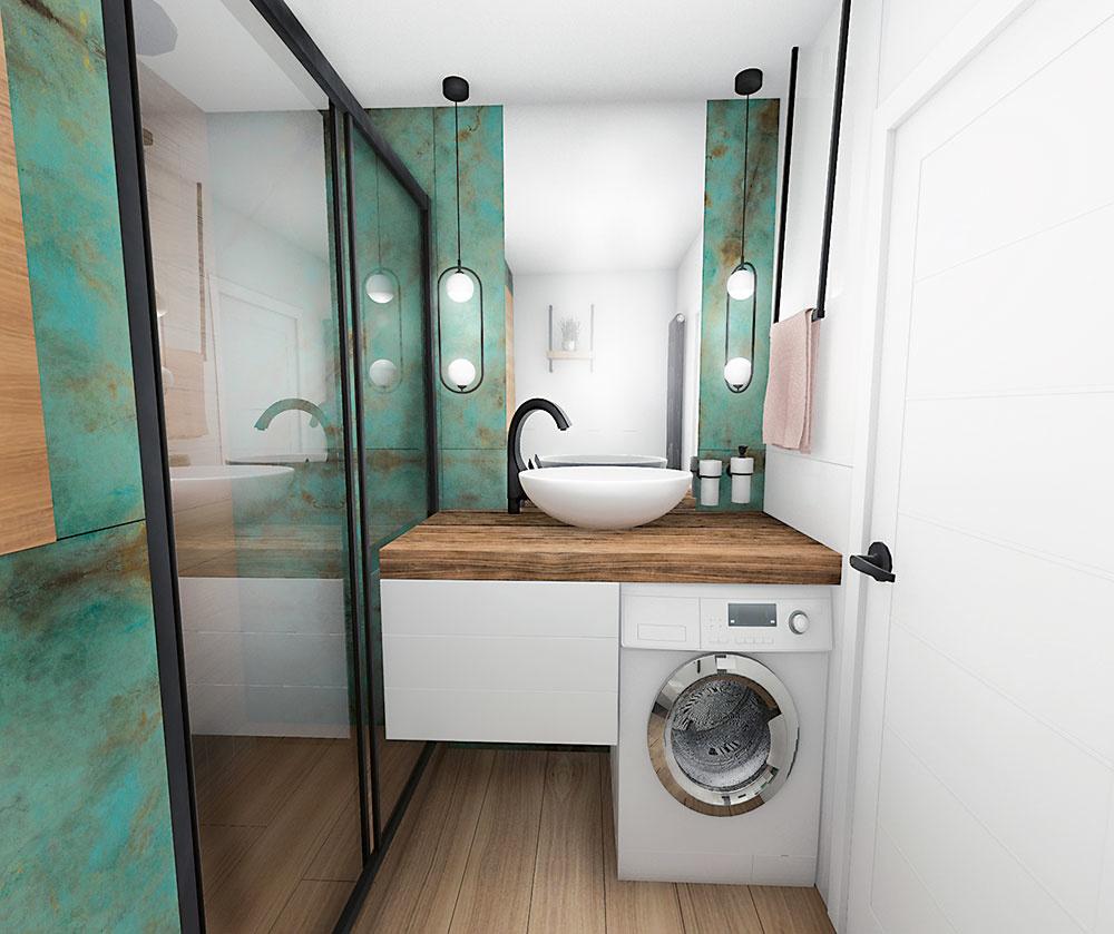 Dizajnérky radia: Ako zrekonštruovať a zariadiť malú kúpeľňu