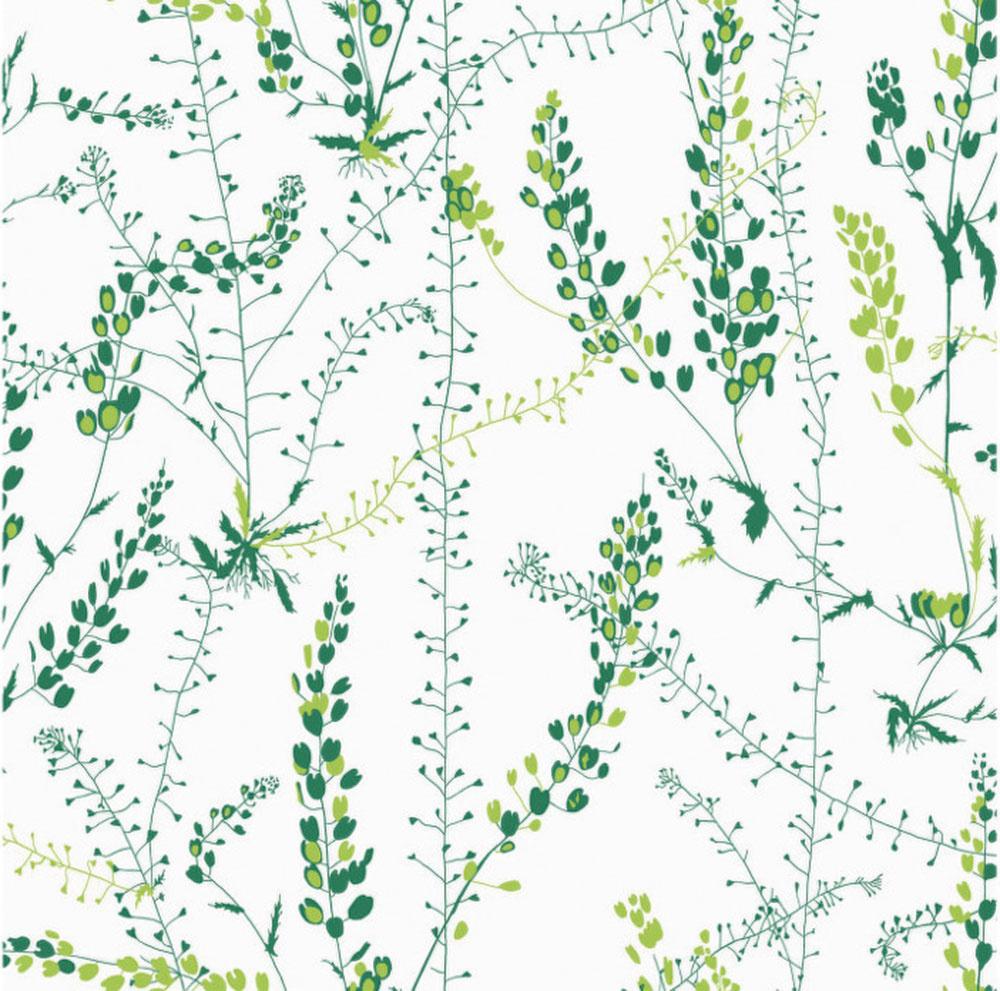 Nepáčia sa vám jednofarebné steny? Dobrou alternatívou je tapeta, ktorá by mala korešpondovať s farbami v miestnosti. Jemnú botanickú tapetu od značky BorasTapeter predáva designville.sk.