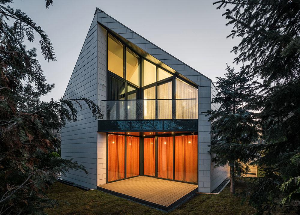 lodžie kryté strechou