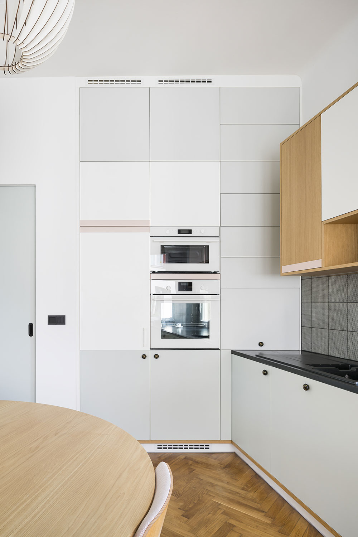 rekonštrukcia bytu kuchyňa so spotrebičmi