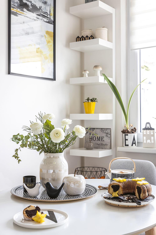 dekorácie na stole