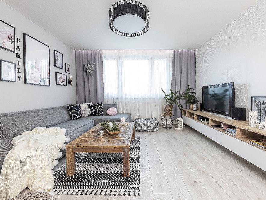Škandinávia v Petržalke: Vydarená rekonštrukcia panelákového bytu