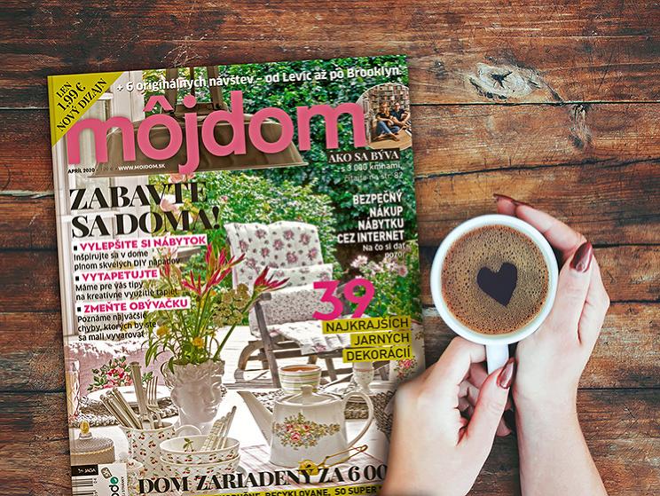 Páči sa vám náš časopis Môj dom? Podporte nás!
