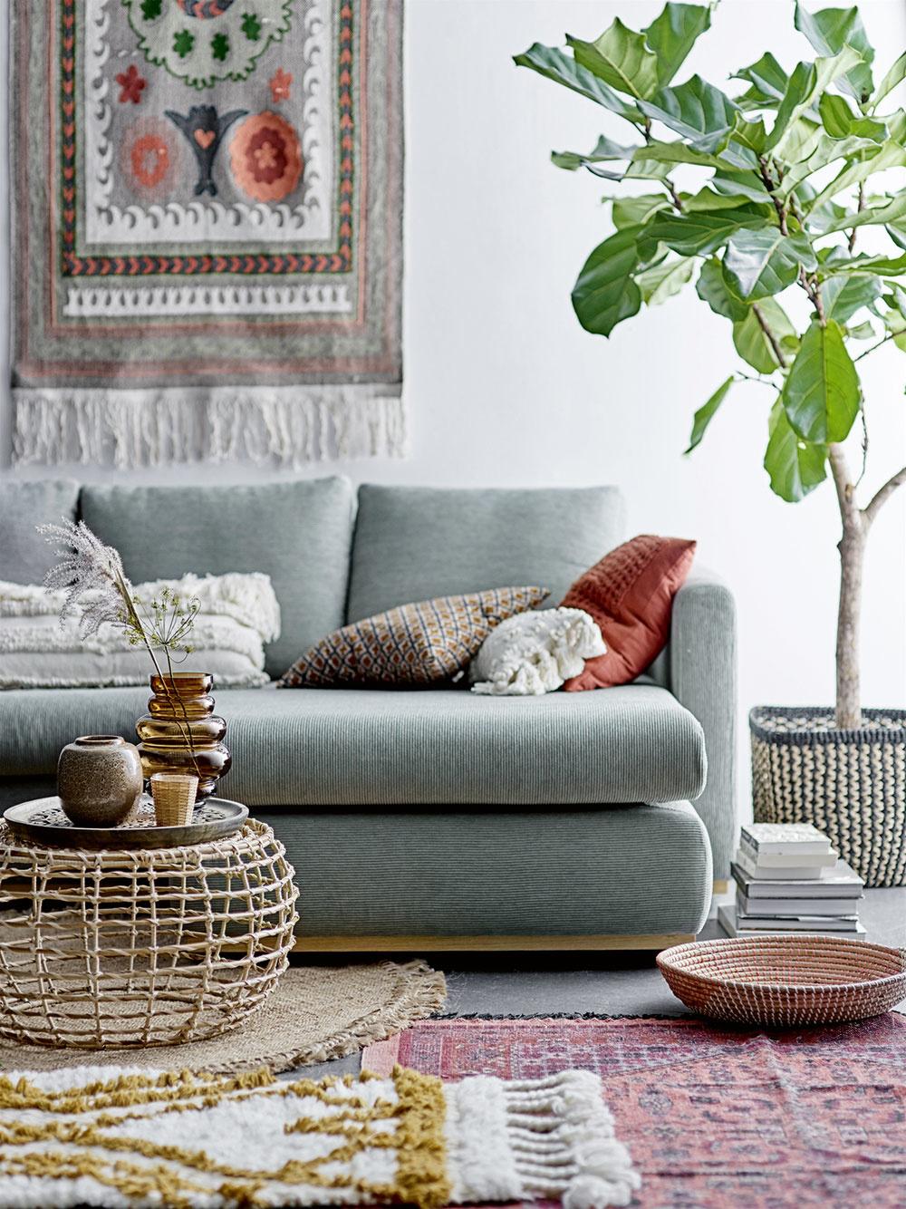 textílie v interiéri