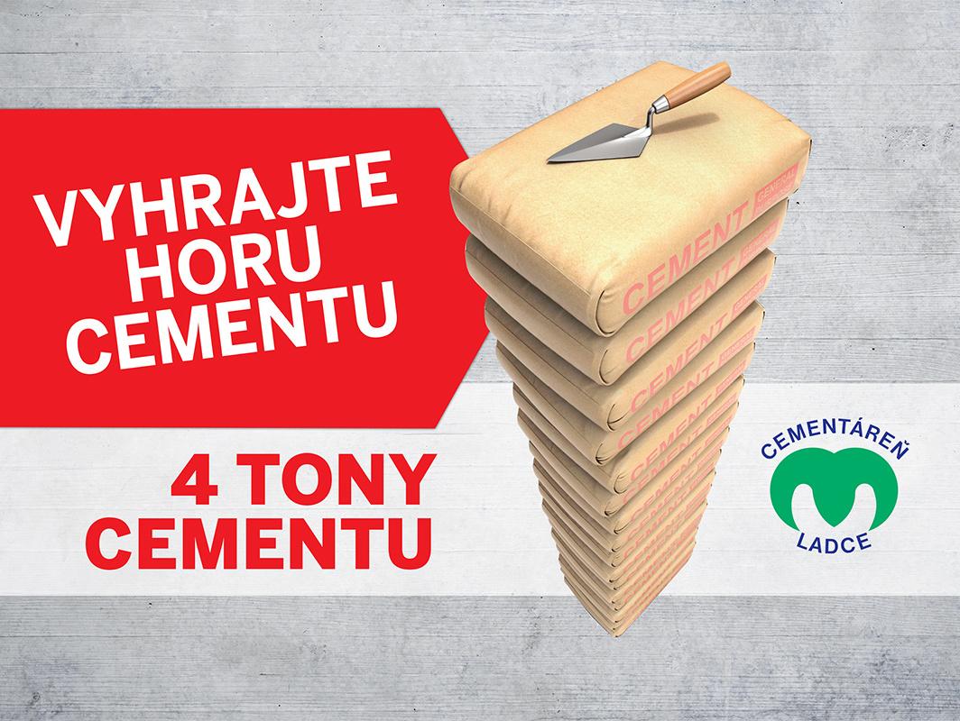 Zišli by sa vám štyri tony cementu? Zapojte sa do súťaže!