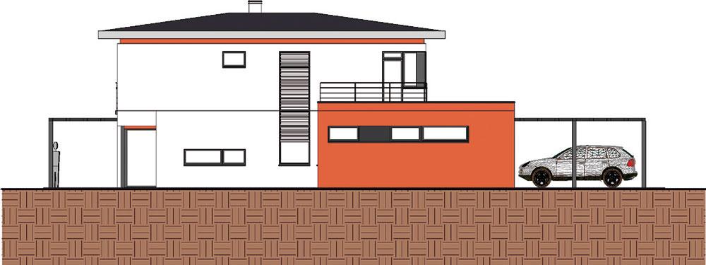 Projekt rodinného domu STUPAVA