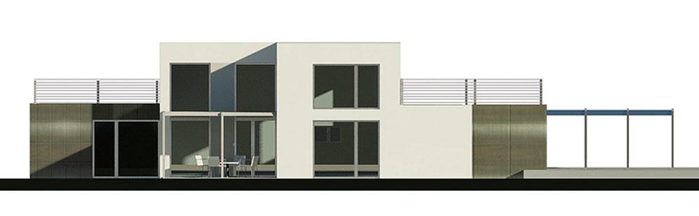 Projekty rodinných domov BLACK & WHITE