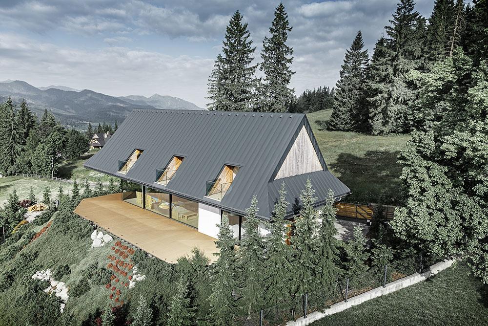 Rekreačný dom v poľských Tatrách
