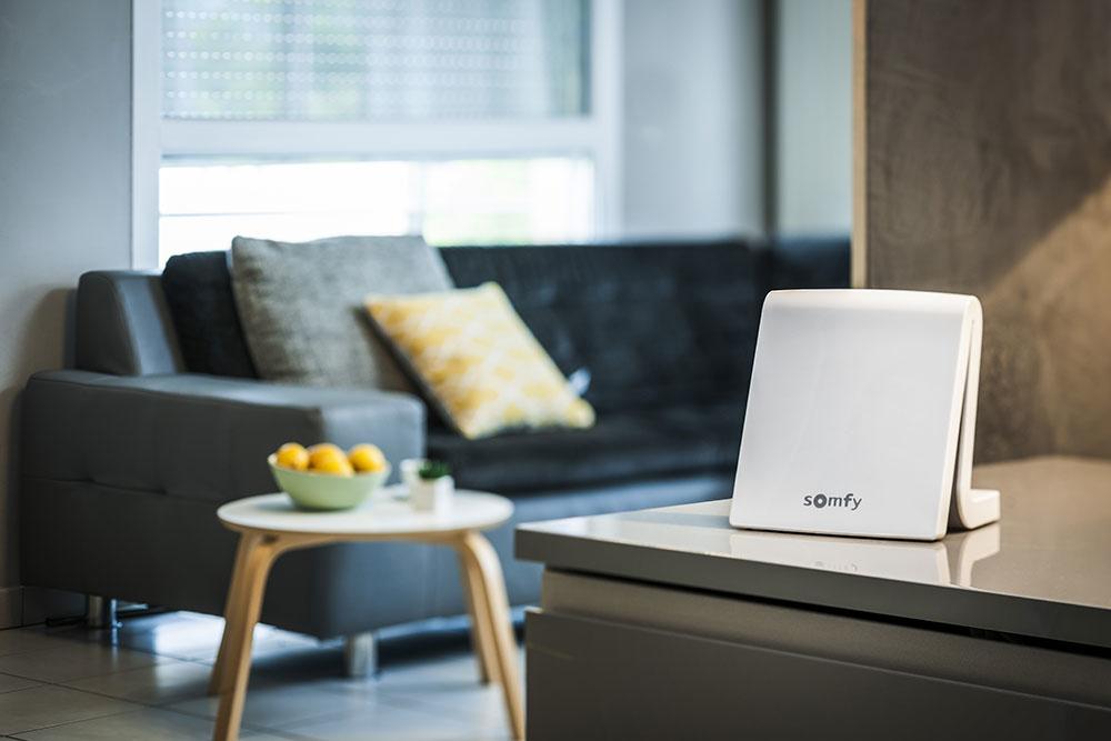 Riadiaca jednotka TaHoma Premium umožňuje ovládať všetky zariadenia v domácnosti prostredníctvom internetového pripojenia priamo z domu alebo na diaľku odkiaľkoľvek pomocou aplikácie v mobile alebo tablete a webového rozhrania v počítači. Do systému možno zapojiť takmer všetko v domácnosti – tieniace prvky, osvetlenie, okná, brány, prvky bezpečnostného systému i reguláciu kúrenia...