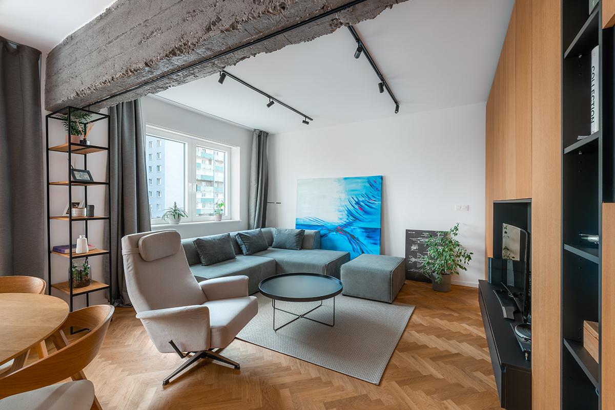 Bratislavský byt po rekonštrukcii