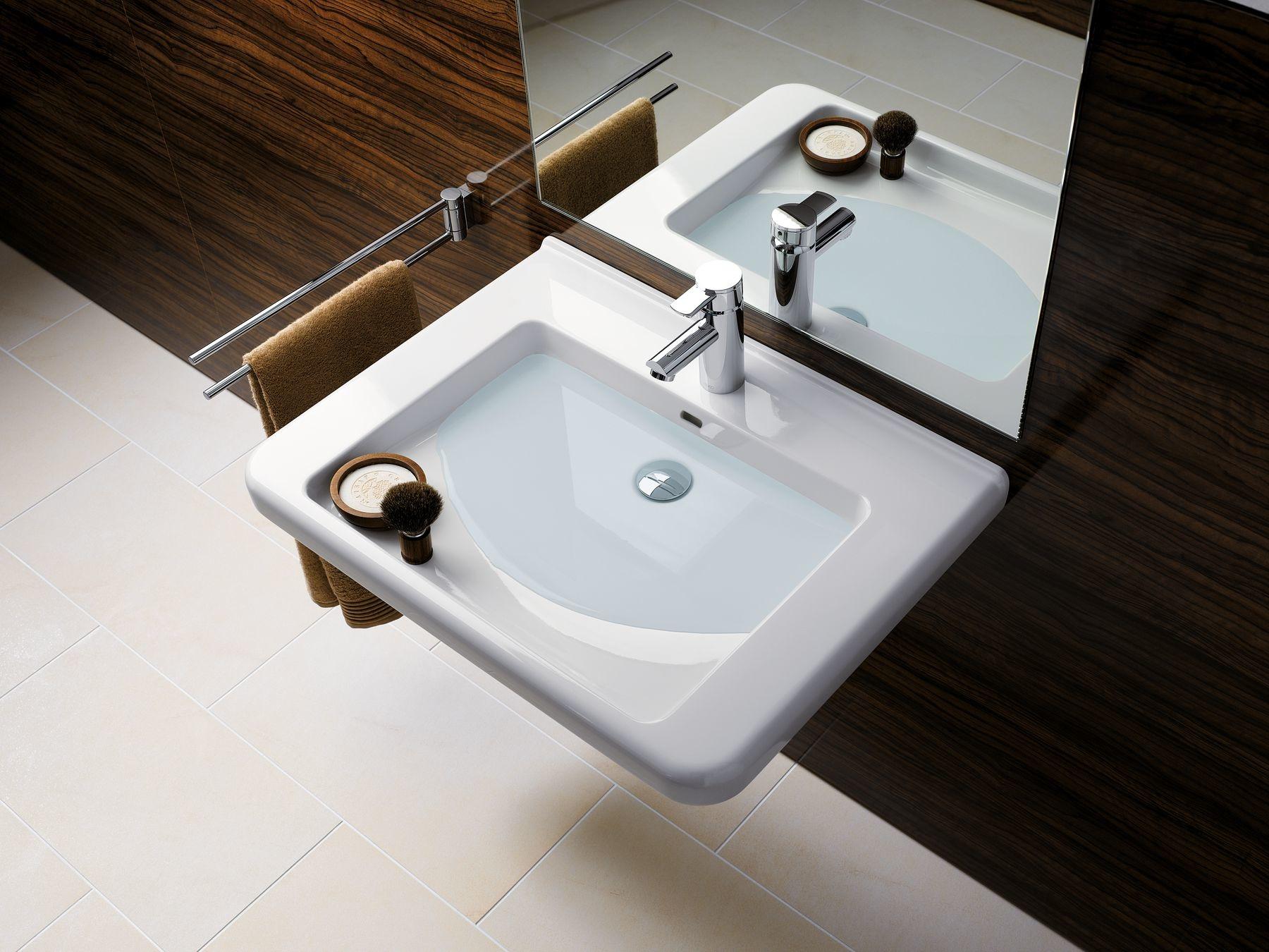 Umývadlá Geberit Selnova Comfort ponúkajú pohodlie osobám zo zníženou pohyblivosťou.