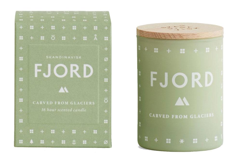 Vonná sviečka FJORD mini od značky Skandanavisk, 20,70 €, bellarose.sk