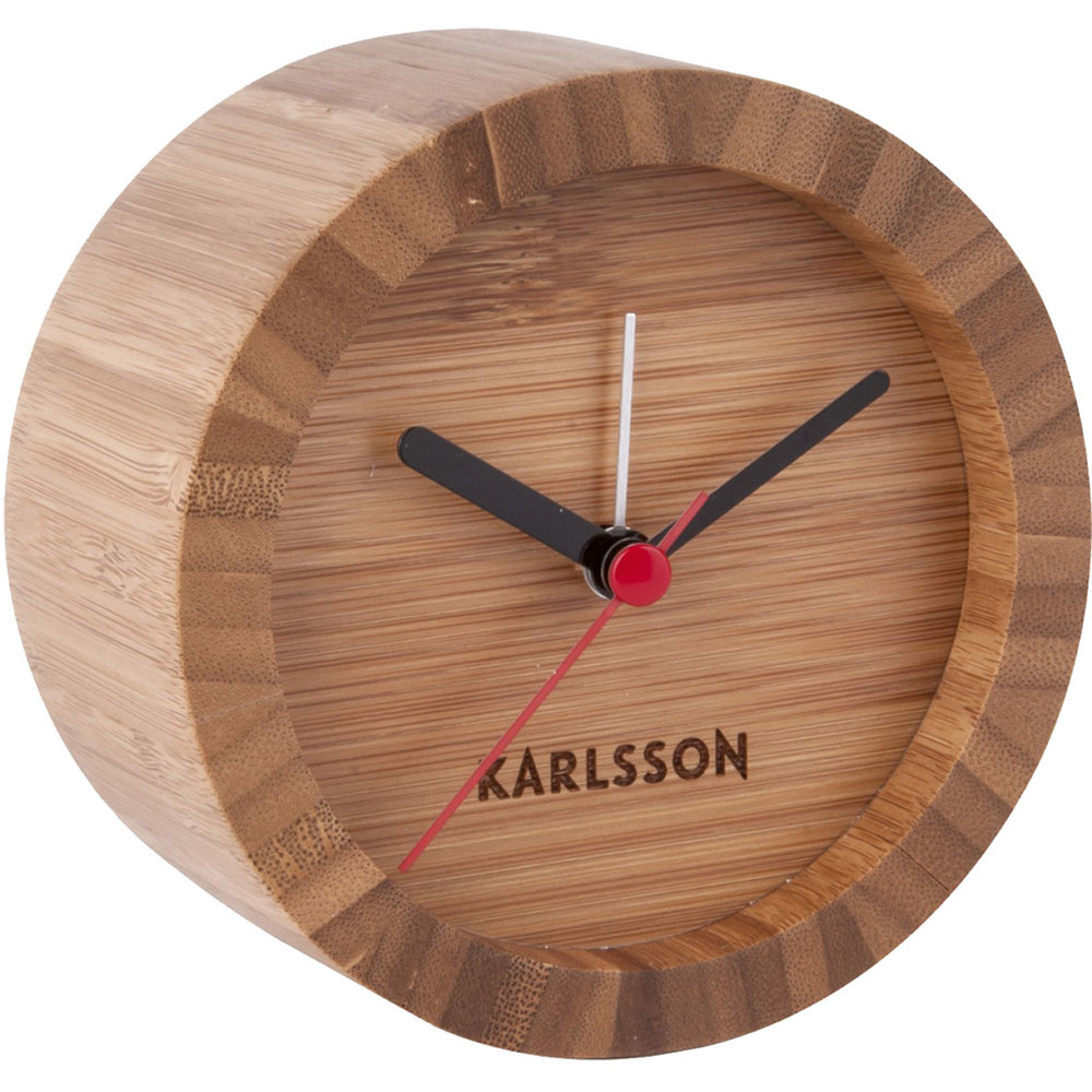 Budík TOM od značky Karlsson z bambusového dreva, 29,90 €, pohodo.sk