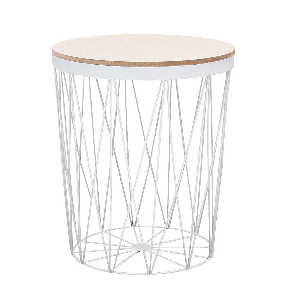 Kovový stolík Storage II s MDF doskou, 30 €, pohodo.sk