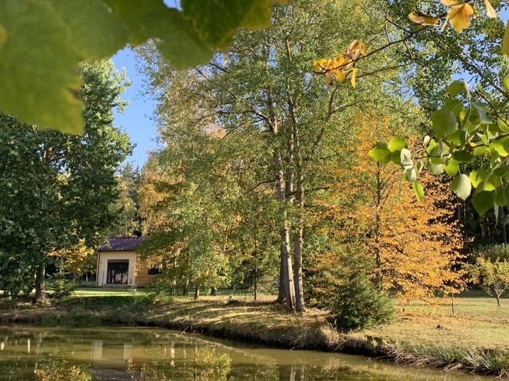 Malá drevostavba v Južných Čechách