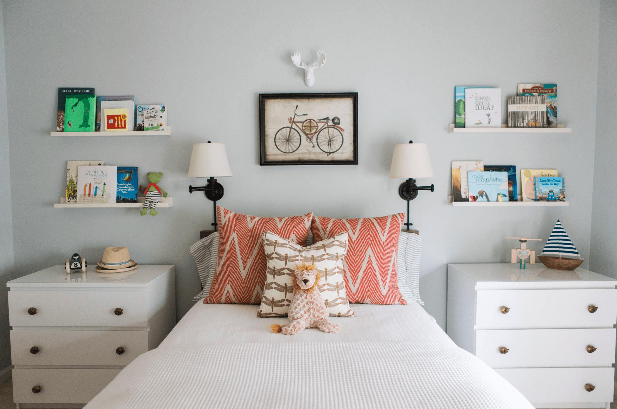 Detská spálňa s bielym nábytkom ALT