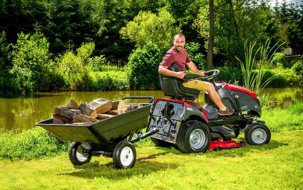 Ako využiť záhradný traktor počas celého roka