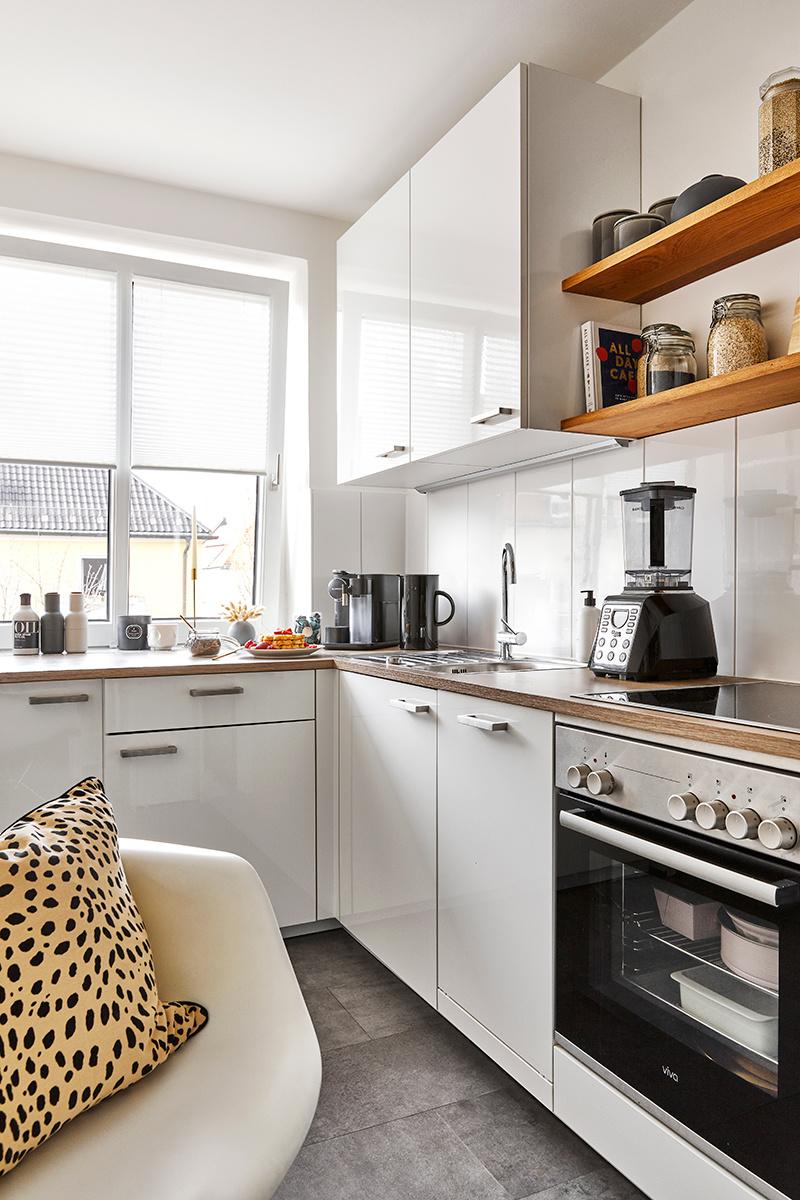 Malý byt zariadený prakticky a štýlovo