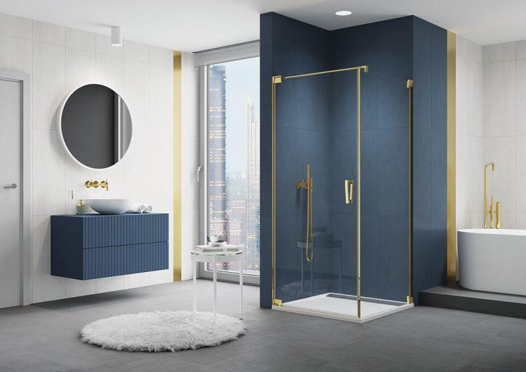Sprchové zásteny CADURA GOLD LINE