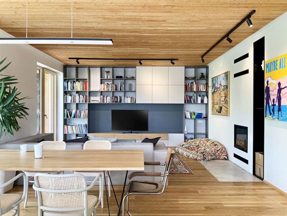 Súťaž Interiér roku: Moderný dom s pohodlím ako na chalupe