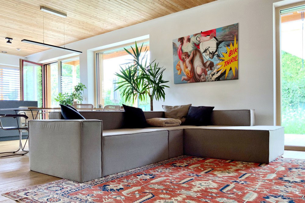 Moderný dom s pohodlím ako na chalupe