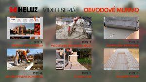 HELUZ natočil seriál ako videonávod pre hrubú stavbu domu