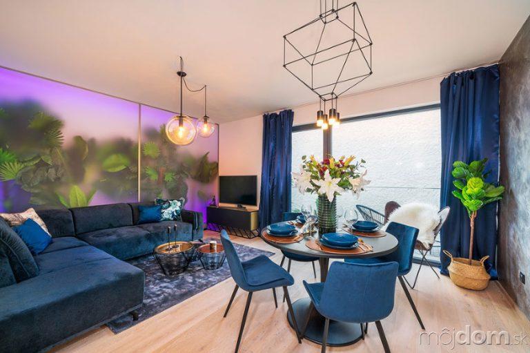 Súťaž Interiér roku: Moderný pánsky byt s rastlinnými dekoráciami