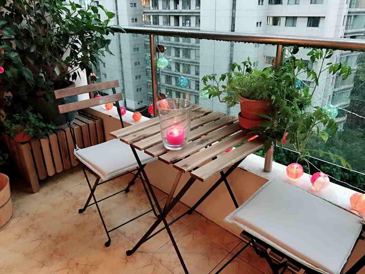 nábytok na terase