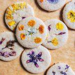 sušienky s jedlými kvetmi