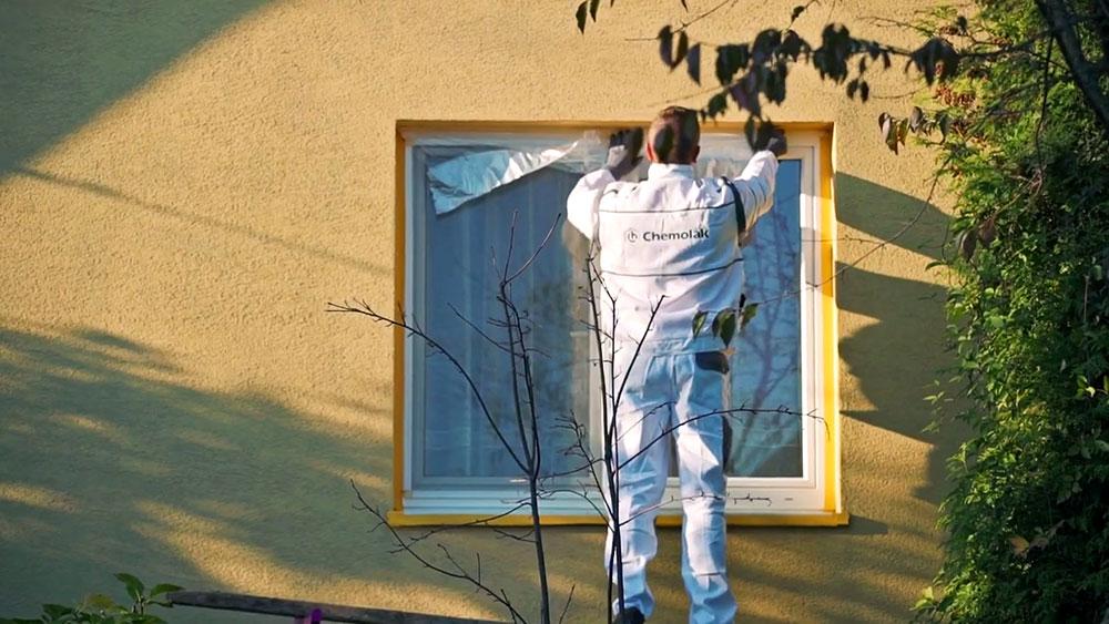 Zakrytie plôch pred malovaním