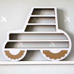 Polička vtvare traktora, Unlimited Design for kids, 32 €, pohodo.sk
