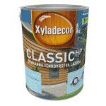 Tenkovrstvová lazúra na rozpúšťadlovej báze Xyladecor Classic HP (High Protection) obsahuje aj fungicídnu zložku proti modraniu dreva. Ak je však potrebná intenzívnejšia ochrana proti hubám ahnilobe, odporúča sa použiť aj impregnačný náter (napúšťadlo). Nanáša sa vdvoch až troch vrstvách, riedi sa bežným syntetickým riedidlom. (Predáva HORNBACH.)