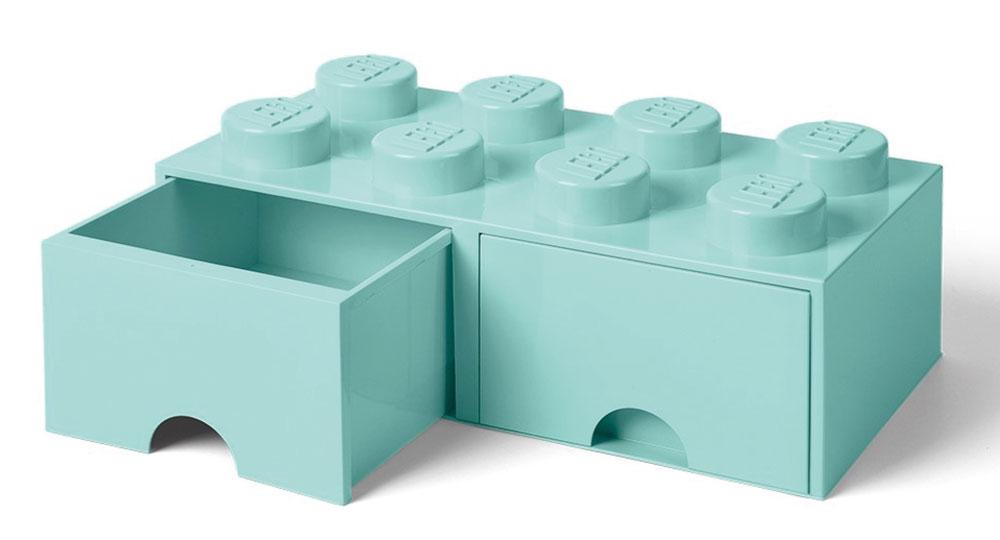 Úložný box sdvoma zásuvkami LEGO