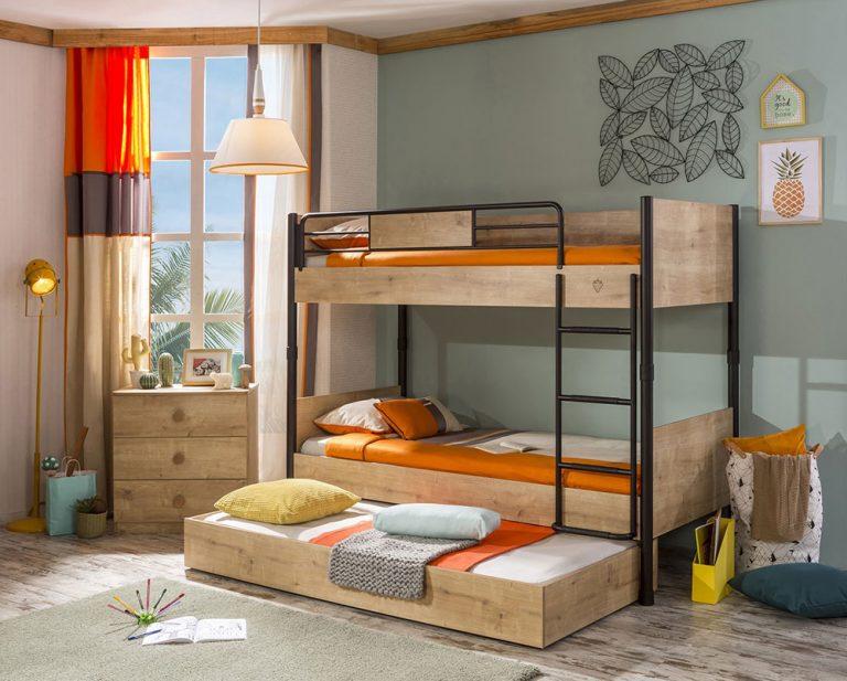 Kúpiť či nekúpiť deťom poschodovú posteľ?