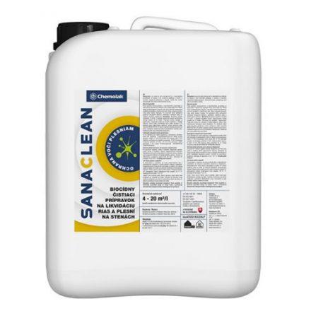 Biocídny čistiaci prípravok na likvidáciu rias a plesní na stenách