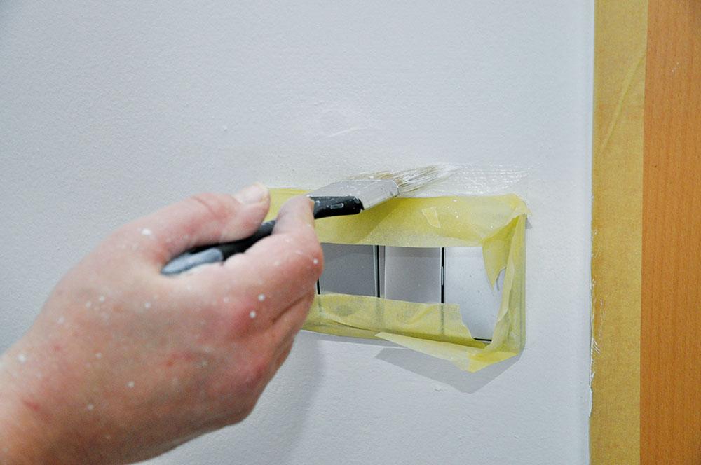 Využitie maliarskej pásky