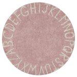 Okrúhly koberec ABC, Lorena Canals, 100 % bavlna, priemer 150 cm, 159 €