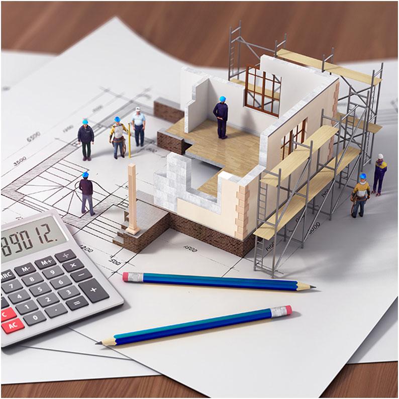Pri návrhu skladby stropu musia byť zadefinované rozmery reálneho vyhotovenia stavby i jej konštrukcií.