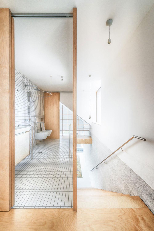 kúpeľňa v rodinnom dome